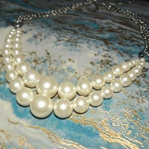 Jewelry - Double Strand Pearl Necklace
